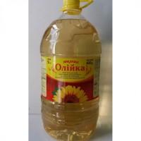 Масло подсолнечное рафинированное дезодорированное вымороженное ТМ Сонячна Олійка 5 л
