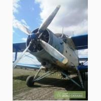 Авиаподкормка - внесение аммиачной селитры самолетами Ан-2 и вертолетами