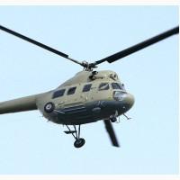 Підживлення озимого ріпаку та озимої пшениці з вертольота