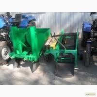 Картофеле сажалка 2-ух рядная для трактора