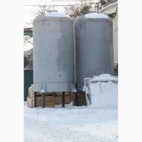 Емкости резервуары пищевые вертикальные