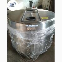 Танк охладитель молока б/у Alfa Laval 1000 открытого типа объёмом 1000 литров