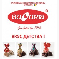 Прямые поставки. Крупнейшая кондитерская фабрика молдавии Bucuria. Работаем с 1946 года