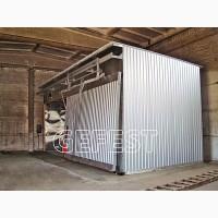 GEFEST DKB - «бюджетная» серия энергоэффективных промышл. сушильных камер для сушки дерева