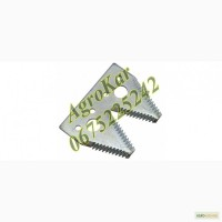 H163131 сегмент двойной ножа жатки (крупная насечка), JD600R/F/FD