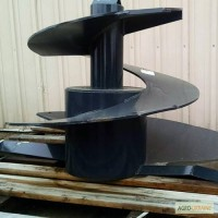 Шнек кормосмесителя (турбо шнек, шнек триолет) для Trioliet Solomix, EUROMIX, Siloking