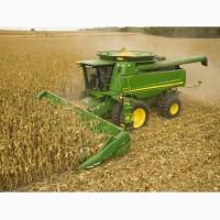 Уборка сои кукурузы подсолнечника Львов, послуги збирання врожаю комбайнами