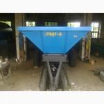 РУМ-4, РМГ-4, МВУ 5, МВУ 6, МВУ 8 Разбрасыватель минеральных удобрений - Песка, Мела, Отсева