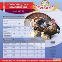 Покупайте качественные комбикорма для Индюков по честным ценам от TM Kombilie!