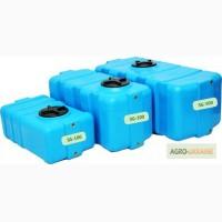 Прямоугольные емкости для воды от 100 до 500 литров