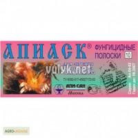 Апиаск полоски ( 10 полосок.-в 1упаковке.) Апи-Сан.Россия