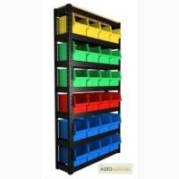 Стеллаж и ящик (тара) для хранения