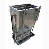 100% нержавейка. Кормовой автомат для кормления поросят увлажненным кормом КСВ224