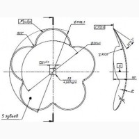 Диск бороны Niaux, диаметр 710 мм