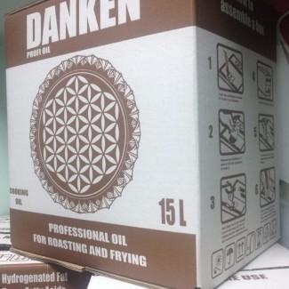 Масло подсолнечное рафинированное высоко-олеиновое в 15 литровых bag in box