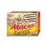 Масло сладкосливочное «Экстра» 81%