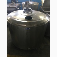Охладитель молока БУ ALFA LAVAL на 1000, 1200 литров. Холодильник для молока. Танк
