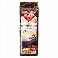 Кофейный напиток Hearts Cappuccino Caramel, 1 кг