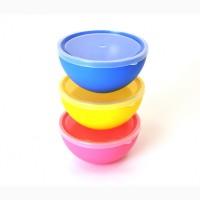 Салатниці, миски пластикові для харчових продуктів