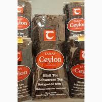 Продам чай чорний крупнолистовий Tanay Ceylon (Німеччина) 500 грам