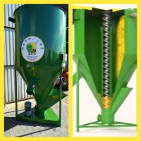 Бункер для змішування сипучих кормів 1500 кг, M-ROL, Польського виробництва