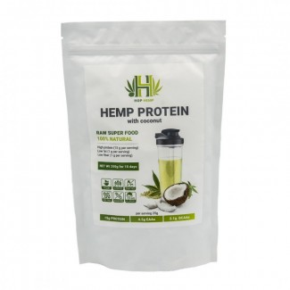 Конопляный органический протеин HopHemp с кокосом, 250 г