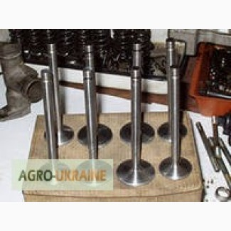 Клапана, втулки направляющие головки цилиндров Д-240 (МТЗ, ЮМЗ), Д-21, Д-144 (Т-16