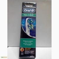 Oral-B DUAL CLEAN 3 шт, Оригинал, Только Высокое качество