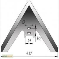 Лапа культиватора КПЭ ширина 380-500мм