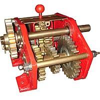 Механизм передач (левый ) на сеялку СЗ-3.6
