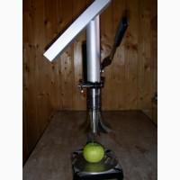 Ручная резка яблок на дольки с удалением сердцевины. Яблокорезка