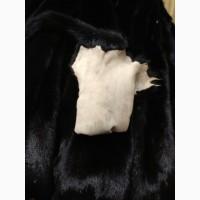 Продам норку блек натуральний вельвет