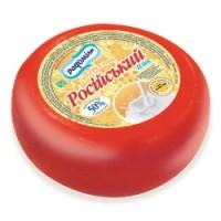 Сыр твёрдый «Российский - плюс», 50%
