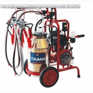 Доильный аппарат tulsan (турция) тандем