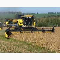 Уборка зерновых и подсолнечника