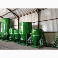 Шнековий змішувач кормів 2000 кг