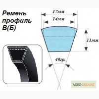 Ремень приводной клиновой профиль В(Б)-2800, С(В)-2800, С(В)-4000