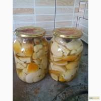 Продаб гриби білі, сушені мареновані