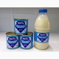 Молоко сгущенное с сахаром, Віста, 370г