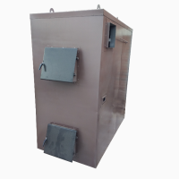Твердотопливный пиролизный котел воздушного отопления KFVP-150 от производителя