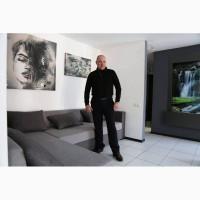 Розпис стін в інтер#039;єрі від дизайн студії Романа Москаленка