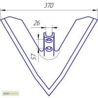 Лапа культиватора HORSHG-FG, шир.370-450мм., лапа Хорш