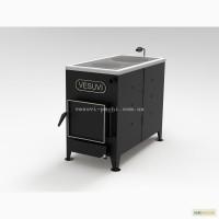 Твердотопливный котел VESUVI 12-18 кВт с чугунной варочной плитой и без 4999 грн опт