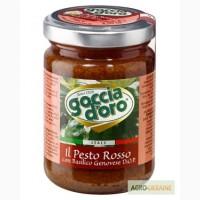 Продукты Италии. Соус Presto на томатной пасте