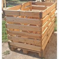 Деревянные контейнер для овощей Крым