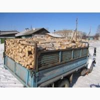 Дрова плотно уложены с доставкой Киеву и Киевской области