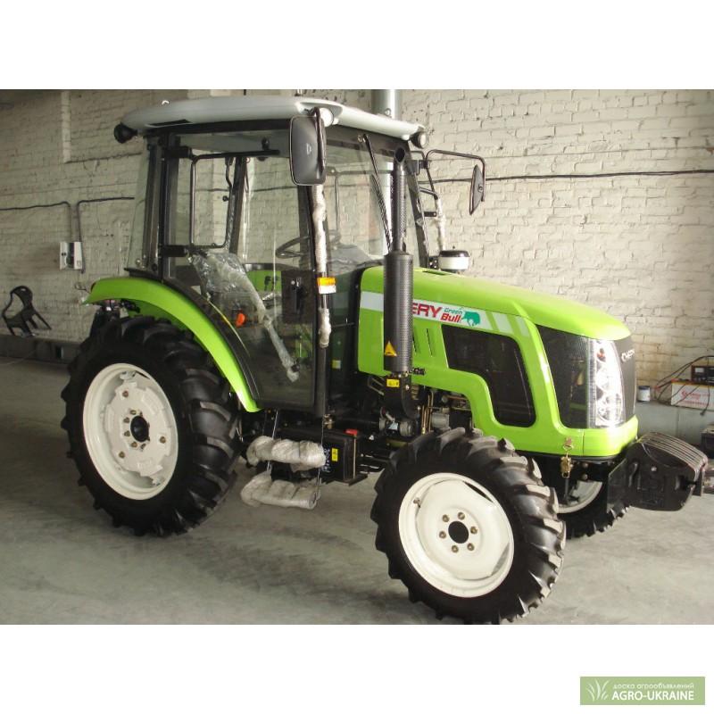 Купить Трактор Chery 504 Чери 504 с кабиной, Китай.
