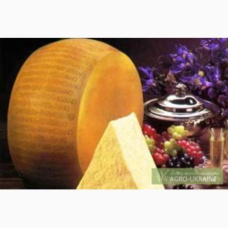 Твёрдый итальянский сыр Parmigiano Reggiano