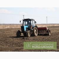 Услуги по внесению удобрений,дискованию почвы,посеву ранних зерновых и пропашных культур.
