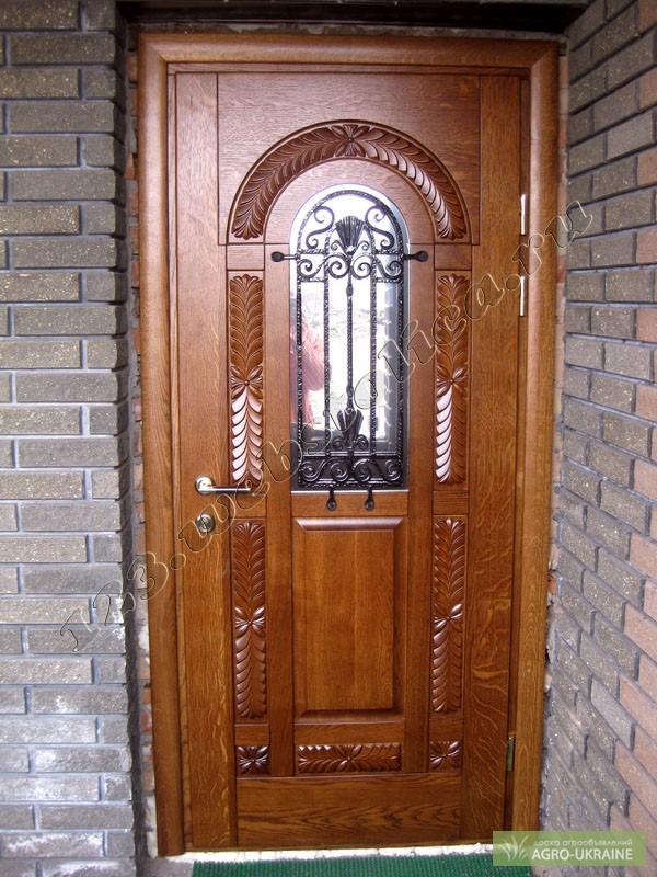 Двери деревянные входные фото своими руками